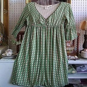 Max Studio Knit Dress L v-neck